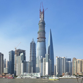 Is the Shanghai Tower the world's first eco-friendly skyscraper?